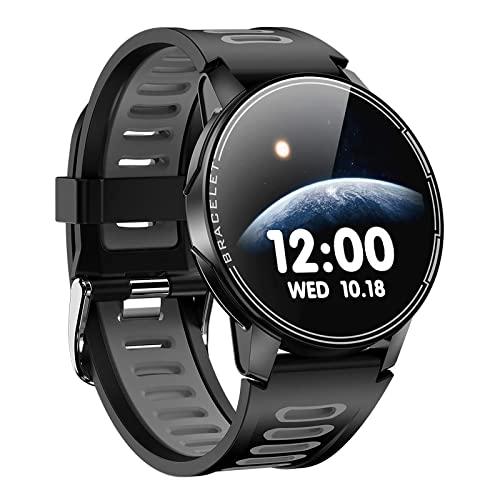 ZGNB Reloj inteligente L6 para hombre con seguimiento de actividad con presión arterial y frecuencia cardíaca, conteo de pasos, calorías, resistente al agua, IP68, reloj deportivo (B)
