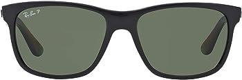 Ray-Ban Polarized Green Classic G-15 Square Men's Sunglasses