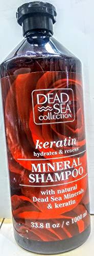 DEAD SEA, KERATIN MINERAL SHAMPOO 33.8 FL. oz