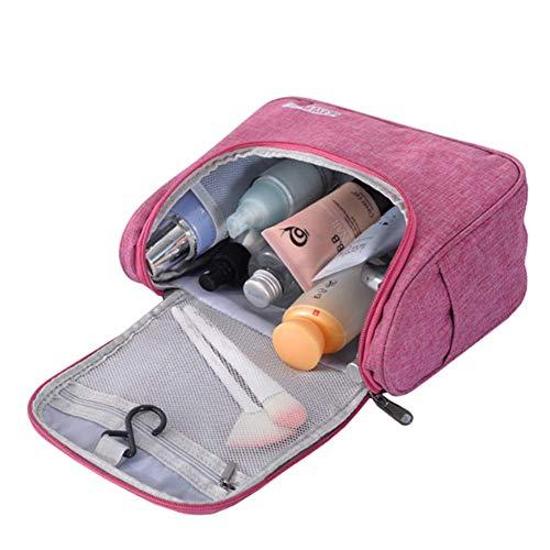 Make Up Bag Ladies Organisateur étanche Crochet Sac Creative pliant de lavage sac de rangement Solide Couleur