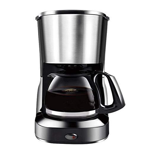 WMM-Coffee machine Máquina de Filtro de café | Cafetera de 600 vatios para café instantáneo, expreso, protección en seco, función antigoteo, función de Apagado automático