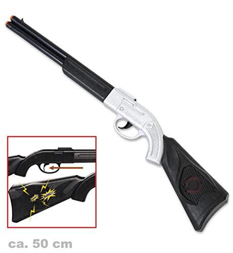 KarnevalsTeufel Western Gewehr Spielzeuggewehr Flinte Cowboy Wilder Westen Zubehör
