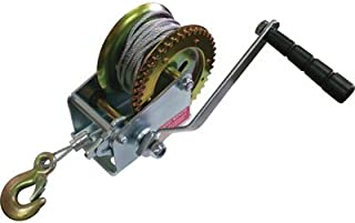Ultra-Tow Trailer Winch - 1000-Lb. Capacity, Model# 400065with Cable
