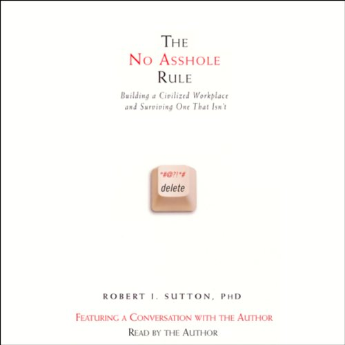 The No Asshole Rule cover art
