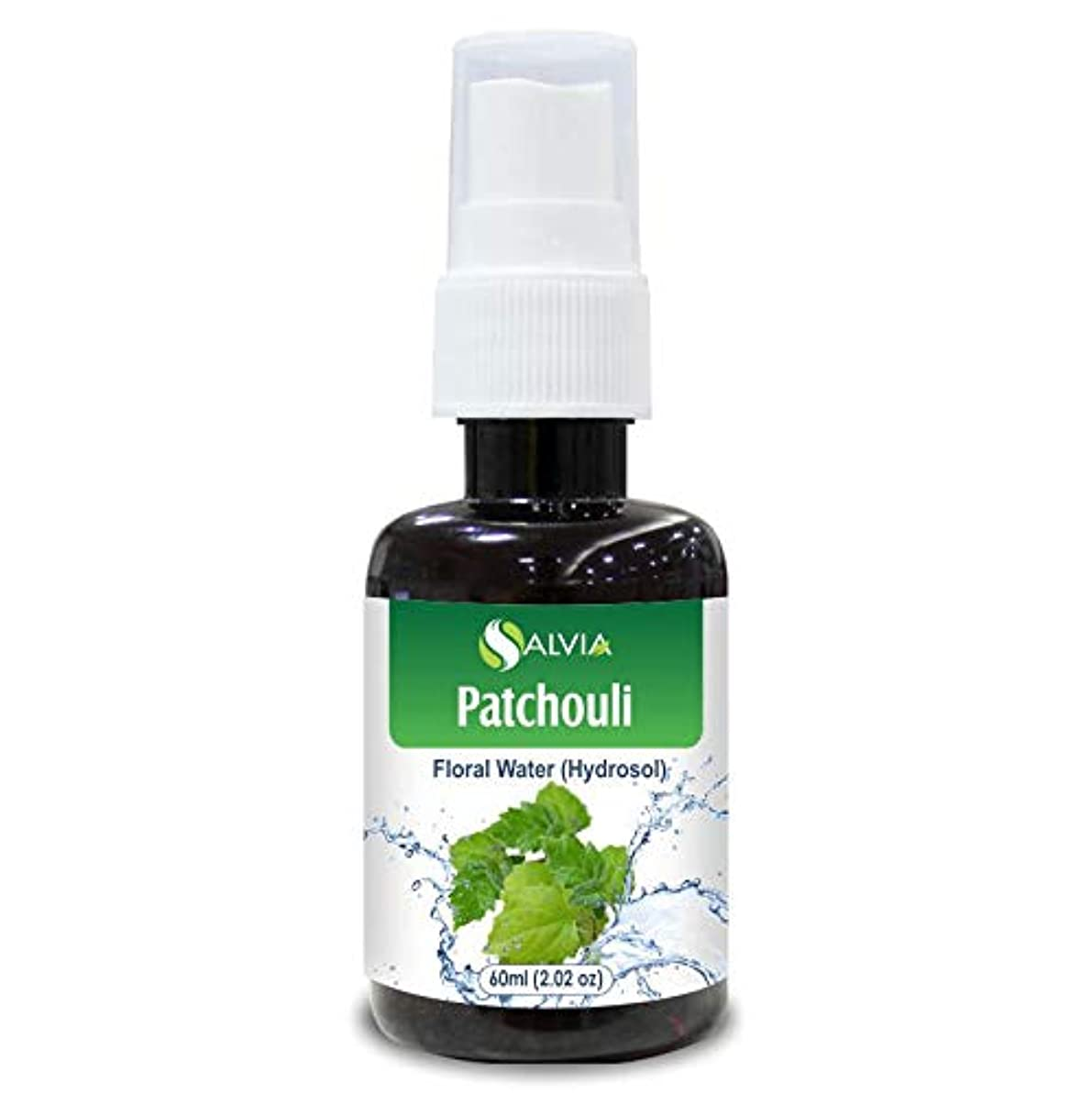 チャンピオン花弁守銭奴Patchouli Floral Water 60ml (Hydrosol) 100% Pure And Natural