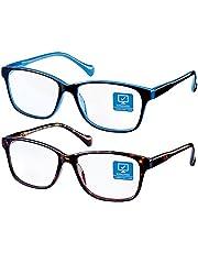 Blue Light Blocking Computer Glasses Anti Eyestrain Unisex(Men/Women)