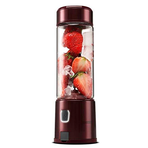 ZQY Draagbare Smoothie Blender USB Oplaadbare Persoonlijke Blender RVS Blade Geschikt voor Milkshake Baby Food