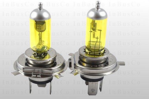 2x H4 60/55W 12V 60W/55W Sockel 43t Halogenlampen Glühlampen Glühbirnen Autolampen YELLOW EDITION 3000 K GELB 18 (134_), 19 II Chamade