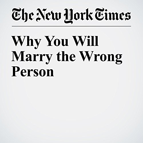 Why You Will Marry the Wrong Person audiobook cover art