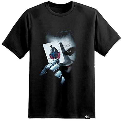 Heath Ledger - Joker Card / Batman / Dark Knight DC Comics T Shirt