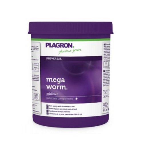 Plagron Mega Worm (Humus Regenwurm) 1L–569GR.–Dünger organisch Natur Bio