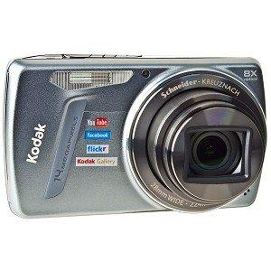 Best Review Of Kodak EasyShare M580 14MP 8X Optical/5x Digital Zoom HD Camera (Blue)