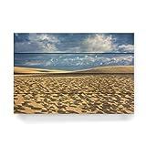 artboxONE Holzbild 60x40 cm Natur Dune du Pilat von