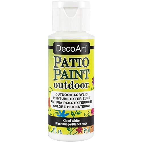 Patio Paint Acrylic Cloud White 2oz