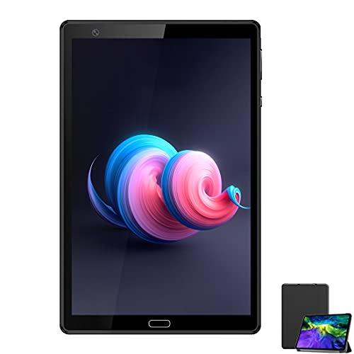 Tablet 8 Pollici 4G LTE WIFI 8-Core 64GB Memoria 4GB RAM Doppia SIM Voukou H8 Tablet Bambini Android Fotocamera di 5MP, Bluetooth GPS OTG FM–Nero