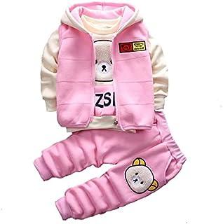 Comfortable baby wear casual cute cartoon bear
