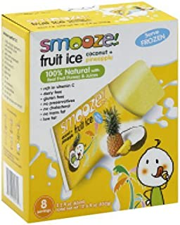 Fruit Ice - Coconut with Pineapple 17.60 Ounces (Case of 12)