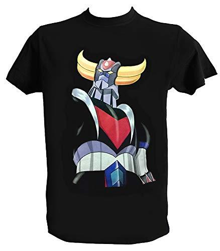 Tee Shirt Goldorak UFO Robot Homme Enfant Anime Manga T Shirt Goldorak Dessin Anime 80, Homme - L