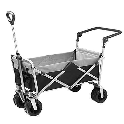 Garden Trolley Buiten Tuinwagen, Opvouwbare & Draagbare Opbergtrolley, Duurzame Campingtrolley Van Oxford-stof, 120 Kg…
