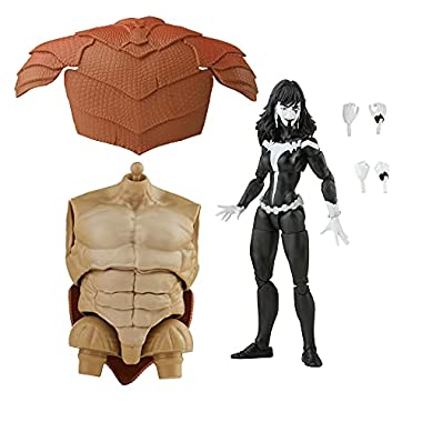 Marvel Legends Series Marvel's Shriek 6-inch Collectible Action Figure Toy and 4 Accessories and 2 Build-A-Figure Part(s…