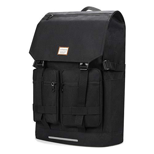 リュック 3形に変形可能 メンズ レディース兼用 リュックサック 3way バックパック 大容量25-40L ビジネス 多機能 15.6インチPC収納 耐衝撃 通勤 通学 アウトド旅行 ブラック 557-black