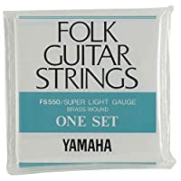 YAMAHA FS550 アコースティックギター弦×3セット