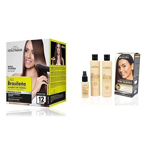 Pack Be Natural Kit Alisado brasileño + Kit Pos alisado