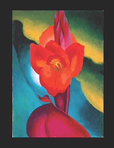Georgia O'Keeffe, Rote Canna, Kalender: Georgia O'Keeffe, Rote Canna, Terminkalender