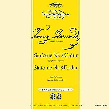 Berwald: Symphony No. 3 'Singulière'; Symphony No. 4; Schubert: Symphony No. 4 'Tragic' (Igor Markevitch – The Deutsche Grammophon Legacy: Volume 17)