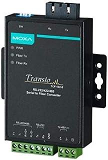 Moxa TCF-142-S-ST-T convertidor, repetidor y aislador en Serie RS-232/422/485 Fibra (ST) - Repetidor de Red (40-75 °C, -40-85 °C, 5-95%, 67 x 100 x 22 mm, 12-48 V, 140 mA)