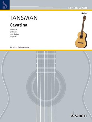 Cavatina: Gitarre. (Edition Schott)