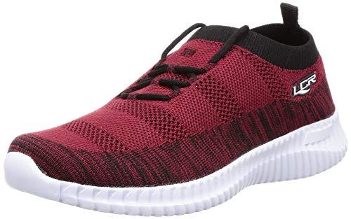Lancer Boy's Red Shoes-3 Kids UK (18 EU) (K-DRAGON-03MRN-BLK-3)