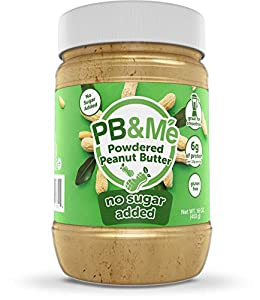 PB&Me Powdered Peanut Butter, Keto Snack, Gluten Free, Plant Protein, No Sugar Added, 16 Ounce