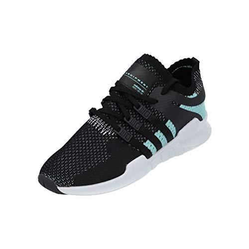 adidas Damen EQT Support ADV Pk W Fitnessschuhe, Schwarz (Negbas/Negbas/Ftwbla), 38 2/3 EU