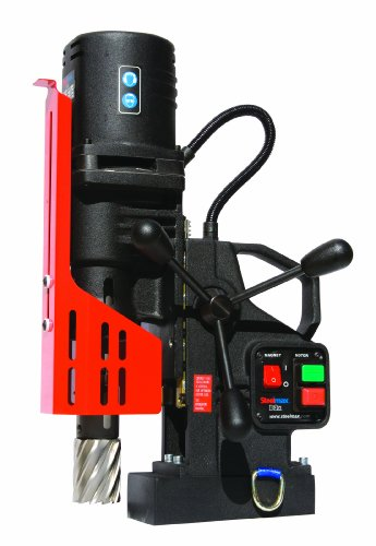 Check Out This Steelmax SM-D2X Portable Magnetic Drill, 2 Diameter x 3 Depth of Cut (Maximums)