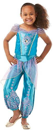Rubie 's 640725Offizielles Disney Prinzessin Jasmin Gem costume-age Jahre, Höhe 140cm, Mädchen, 9–10
