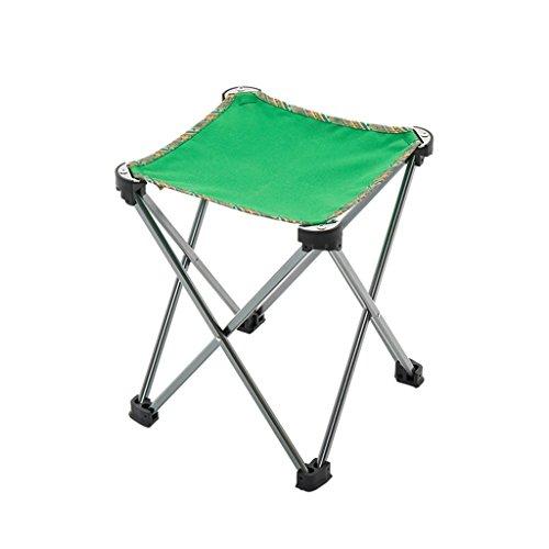 Bao Xing Bei Firm Chaises Tabouret Pliant extérieur Banc Portable Mini Banc Croquis Mazar (Color : Green, Size : 24 * 24 * 27 cm)
