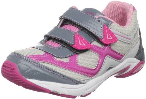 Jumping Jacks XYZ Sneaker (Toddler/Little Kid),Pink/Gray,22 W EU (5.5 W US Toddler)