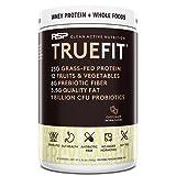RSP TrueFit - Protein Powder Meal Replacement Shake, Premium Grass Fed Whey + Organic Fruits & Veggies, Fiber & Probiotics, Non-GMO, Gluten Free, Keto