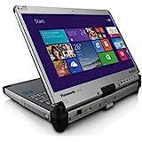 "Panasonic Laptop Convertible Tablet CF-C2, Intel i5 4th Gen, 1.90GHz, 12.5"" HD Touchscreen, 4GB, 120GB SSD, Webcam, WiFi, Bluetooth, Windows 10 Pro Upgraded (Renewed)"
