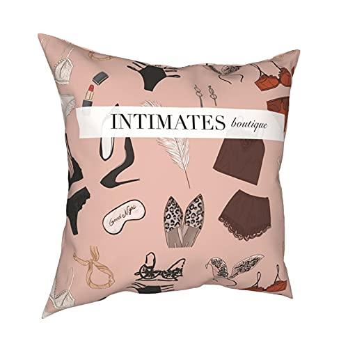 Conjunto de lencería sexy, funda de almohada para sofá, cama, oficina, interior