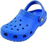 Crocs Classic Clog K, Zuecos Unisex Niños, Azul (Bright Cobalt), 30/31 EU