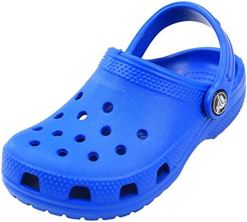 Crocs Classic Clog K, Zuecos Unisex Niños, Azul (Bright Cobalt), 25/26 EU