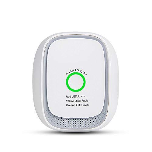 Sensor Inteligente De Gas Combustible, El Teléfono Móvil De Control Remoto Wi-Fi / 75Db Alarma De Detector De Fugas De GLP, La Seguridad contra Incendios/Sistema De Alarma/Detector De Fugas A Casa