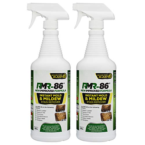 RMR-86 Instant Mold Stain and Mildew Stain Remover (32 Ounce) 2 Pack