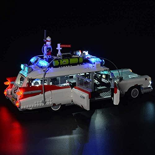 Kyglaring LED-Beleuchtungskit für LEGO 10274 Ghostbusters Ecto-1, LED-Beleuchtungskit für LEGO 10274 (Modell 10274 nicht im Lieferumfang enthalten)