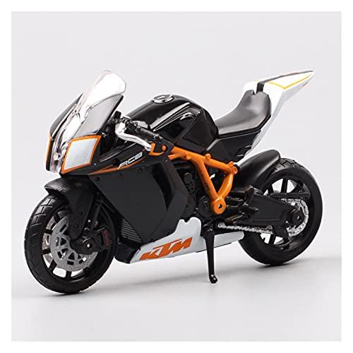 El Maquetas Coche Motocross Fantastico 1: 18 para Bburago 1190 RC8 R Vehículos Fundidos A Presión Coleccionables Pasatiempos Modelo De Motocicleta Juguetes Expresión De Amor