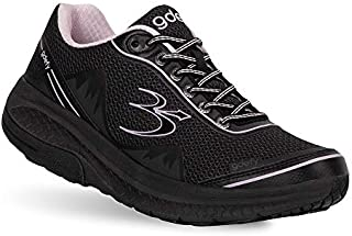 Gravity Defyer Pain Relief Women's G-Defy Mighty Walk Athletic Women's Walking Shoes 8 W US - Diabetic Shoes for Plantar Fasciitis - Black, Purple