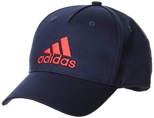 adidas Kinder LK Graphic Cap Hat, Legend Ink/Scarlet, OSFY
