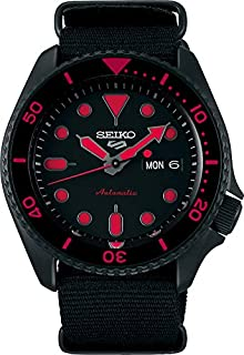 Seiko 5 FACELIFT, 10 Bar water resistant, Calendar, Black Men's watch SRPD83K1